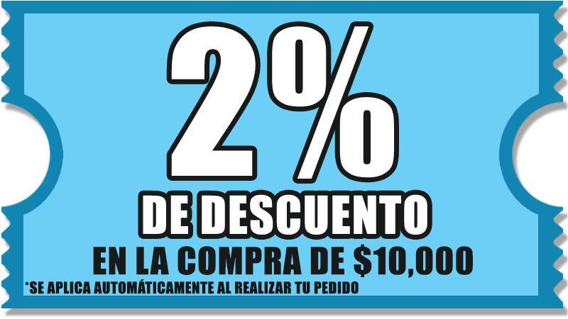 2% DESCUENTO